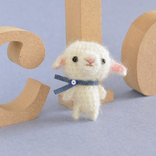【Order Production】 Small Ami Gourami | Lamb amigurumi sheep