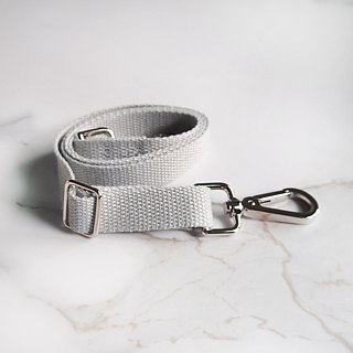Light Tote bag webbing plus purchase - gray