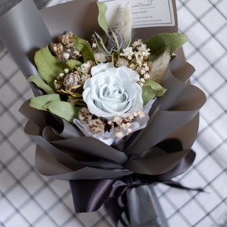 To Be Continued | Elegant Quiet Eternal Roses Dried Flowers Bouquets Valentine's Day Graduation Bouquets Spot