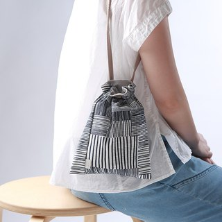 Eye harness, handbag, shoulder bag / woven