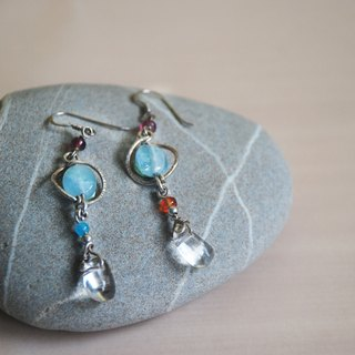 Dream Symphony - sterling silver earrings