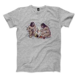Sacrifice the little couple and complete the fire - Dark Grey - Neutral T-Shirt