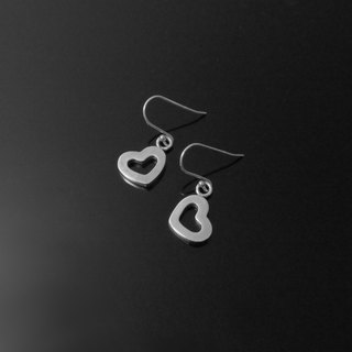 Retouching ReShi / Small Fresh Series / Love Earrings / Ear Hook Earrings / 925 Sterling Silver