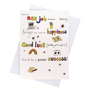 I wish you to find the ideal job [Hallmark-card congratulations congratulations]