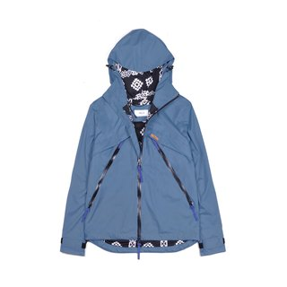 oqLiq 2016 AW - Root - Water windbreaker (misty blue)