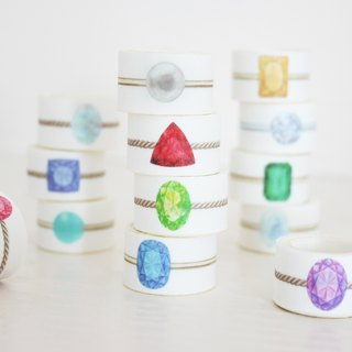 Birthstones Rolling Sticker <12set>