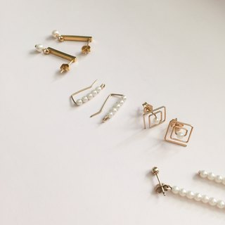 Goody Bag - small pearl earrings