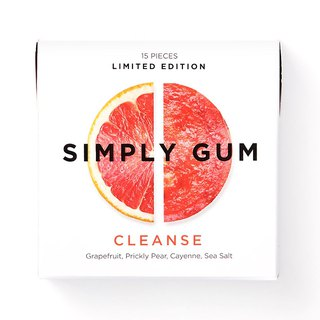 Simply Gum Net Grapefruit Cactus Fruit Chewy Sugar
