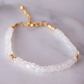 Anniewhere | Lovers | Blu-ray Moonstone Bracelet Anklet Valentine's Day