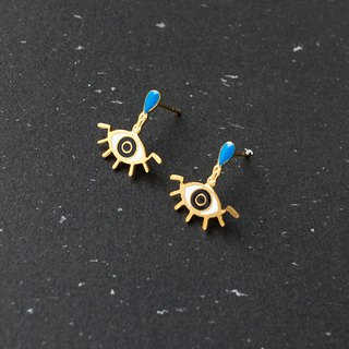 Blue eyes | mysterious prophecy earrings