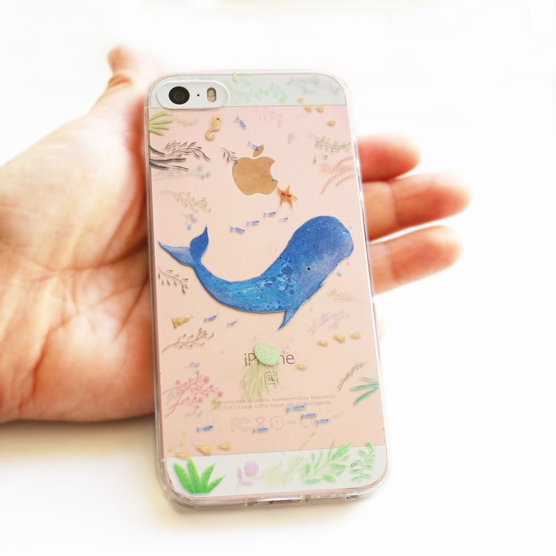 Ocean's love II Whale phone case _ iPhone, Samsung, HTC, LG, Sony