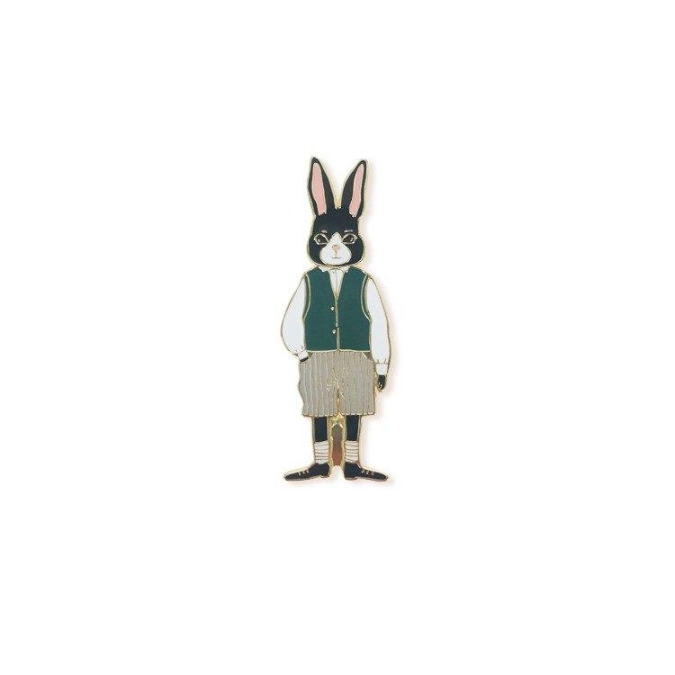 兔子先生 胸針 徽章 兔子小鎮系列