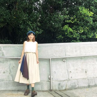 I have two flag skirts | beige