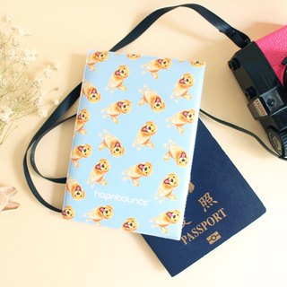 Kiki Golden Retriever Passport Holder