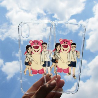 DUNMI and other meters / custom mobile phone transparent soft shell (same figure multiple pieces)