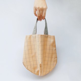 Elegant checkered lightweight bag