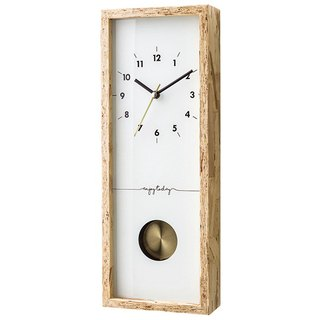 Nocton- Silent Swing Clock Wall Clock (White)