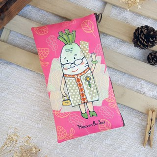 Mrs. Radish Clutch / Pouch / Pencil cases