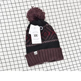 Handmade hooks delicate wool Cap Becks charm wine red spot - the United States Krochet Kids moral fashion brand counters