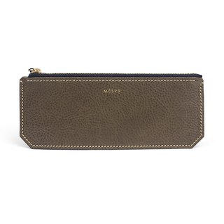 [Minerva]|Skinny Pencil Case|Zipper Pen Pouch