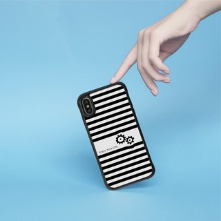 Black White Striped Zebra iPhone Case for i7,i7plus,i8,i8plus,iX gift