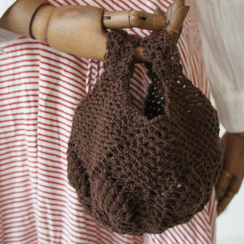 Ba-ba handmade Openwork knitting multi bag No.MB11