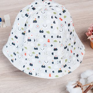 Double-sided fisherman's hat - food goods ball children's clothing newborn infant newborn child parent-child