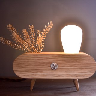 The Planting/ lamp/wooden/handmade