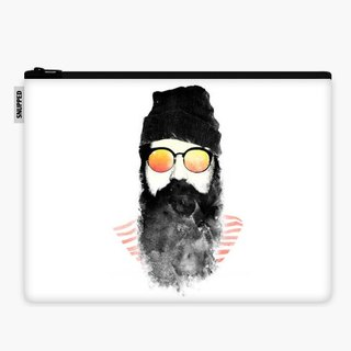 SpaceSuit - Document Pouch - Hipster Chillin