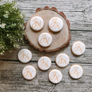 Buyer subscript area - custom LOGO biscuits NH