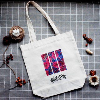 [Girls Comics] Versailles Rose Canvas Bag