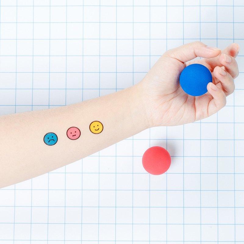 刺青紋身貼紙 / 笑臉表情 Surprise Tattoos