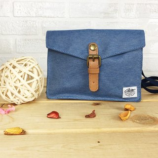 RITE walking bag (cross section) - denim blue