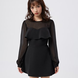 Cassandra Black Dress