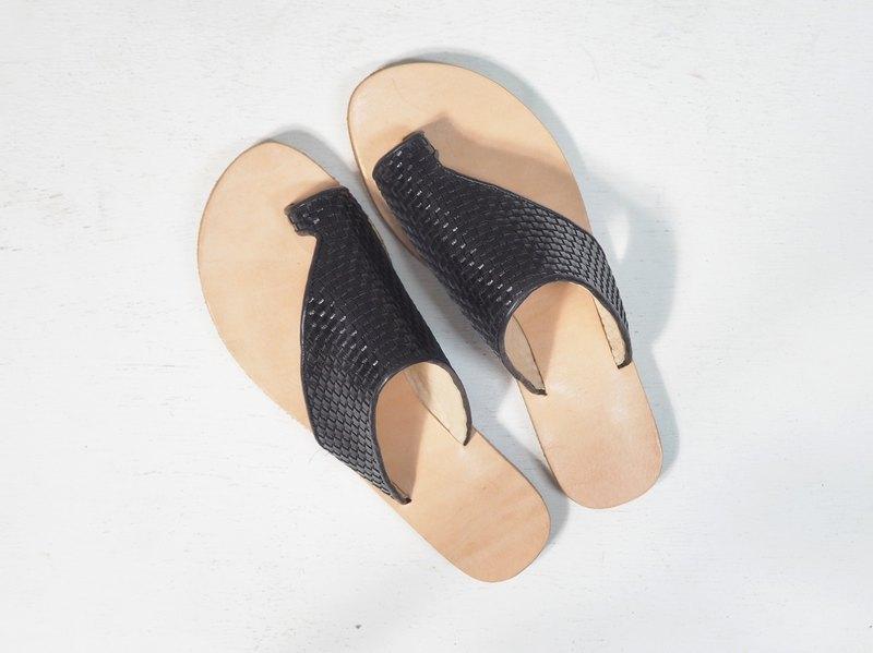 f14e06868 Love Flower Sandals - Leather Knitting - Designer AIKA HANDMADE SHOES
