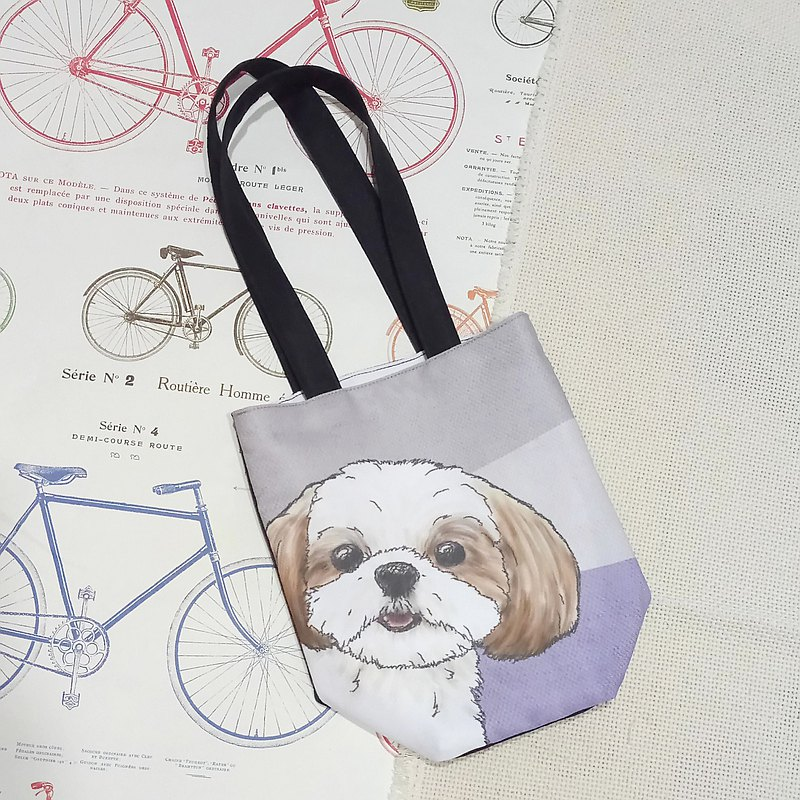 West Shih Dog_Single-Drink Bag-Handbag