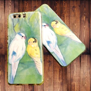 Birdie's Afternoon Chat Illustrator Air Pressure Phone Case