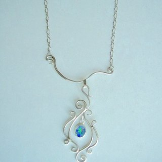 Mosaic Opal · Necklace