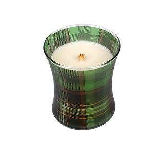 [VIVAWANG] WW 10oz cup curve checkered wax - Green Plaid