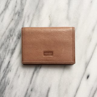 A ROOM MODEL - VINTAGE - Kenzo Brown Wallet / BD-0943