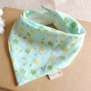 Triangle Mouth Towel - Little Frog