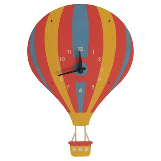 modern moose-3D clock-hot-air-balloon-pendulum-clock