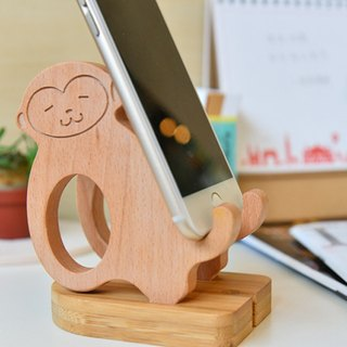 [Customized Gift] Lazy Monkey iPhone Android Customized Mobile Phone Holder