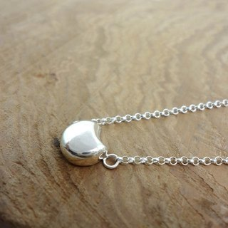 Round 925 Silver Geometric Series Silver Necklace