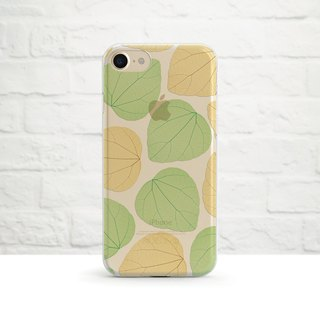 Autumn Vibes - Clear Soft Phone Case, iPhone X iPhone 8, iPhone 7, iPhone 7 plus, iPhone 6, iPhone SE, Samsung