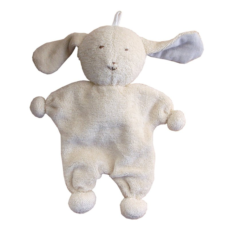 100%  Organic Cotton Baby First Friend- Bunny