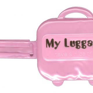 Alfalfa My luggage Luggage tag(Light Pink)