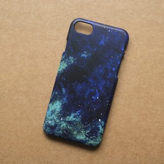 Galaxy Blue Texture. Matte Case( iPhone, HTC, Samsung, Sony, LG, OPPO)
