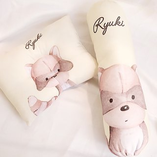 Personalized Baby Bolster and Pillow Gift Set