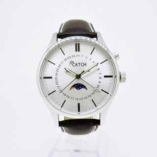 Elegant multi-function calendar watch
